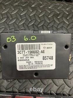 03 Ford F250 F350 Multifunction Anti-Theft Keyless Module 3C7T-15K602-AE