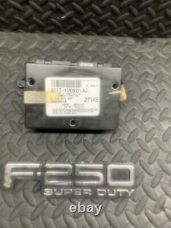 03 Ford F250 F350 Multifunction Anti-Theft Keyless Module 4c7t-15k602-aj