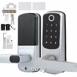 100 Fingerprint Electronic Door Lock Smart Digital Keyless Password Card Key