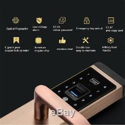100 Group Fingerprint Electronic Smart Digital Door Lock Password Keyless