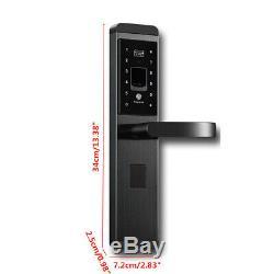100 Group Fingerprint Smart Digital Electronic Door Lock Password Keyless Keypad