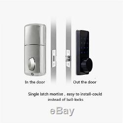 1X Smart Door Lock Bluetooth Keyless Lock Panel by Smartphone Home Entry Locks