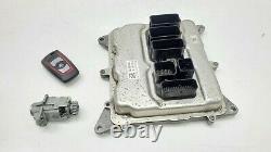 2014-2016 BMW 428I F32 COUPE ENGINE ECU KEY With DOOR CYLINDER LOCK SET OEM