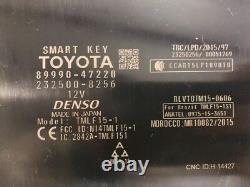 2016-2017 Toyota Prius Theft Locking Keyless Smart Key Module Oem 16-17