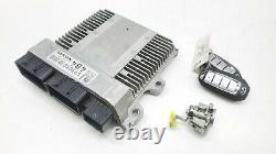 2017-2020 INFINITI Q50 Q60 ENGINE CONTROL MODULE ECU With KEYS OEM 3K
