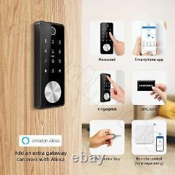 2020 New Auto Smart Fingerprint Lock with Keypads, Keyless Entry Deadbolt Lock