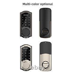 2020 Newest Smart Door Lock, SMONET Smart Deadbolt Bluetooth Keyless, Enable