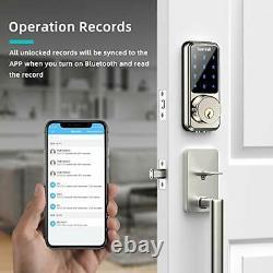 2021 Newest Smart Lock Keyless Entry Deadbolt Door Lock, Digital Electronic