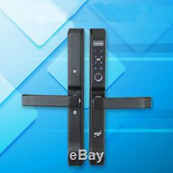 4 Ways Fingerprint Electric Smart Door Lock Digital Password ID Card Keyless