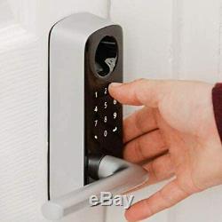 4-in-1 Keyless Entry Smart Door Lock Biometric Bluetooth Fingerprint Keypad Lock