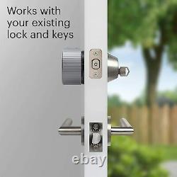 AUGUST WI-FI SMART LOCK 4th GEN KEYLESS QUICK INSTALL DIGITAL DOOR SMARTLOCK