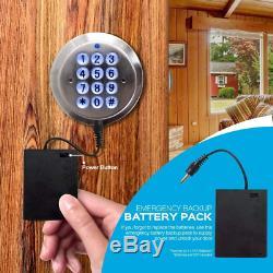 Advanced Security Keyless Smart Lock Keypad, TurboLock Gate Lock, Digital Code L