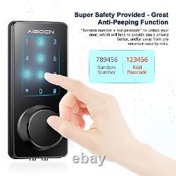 Aibocn Smart Lock Keyless Entry Door Lock with Bluetooth Deadbolt Lock