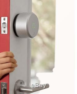August Smart Lock Keyless Home Entry Smartphone WiFi Connect 2nd Generation