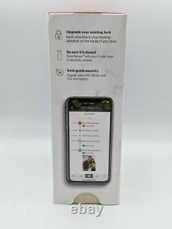 August Smart Lock Keyless Home Entry with Your Smartphone Silver
