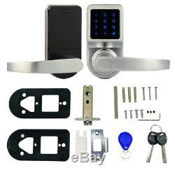 Automatic Smart Lever Door Lock Keyless Touchscreen Password Code Door Lock