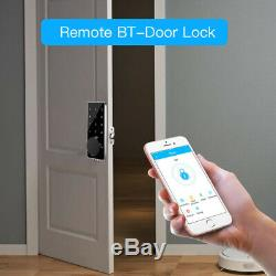 BT-Smart Door Lock Home Security Keyless APP Electronic Code Touchscreen Entry