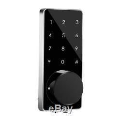 BT-Smart Door Lock Home Security Keyless Deadbolt Digital Electronic Entry Key