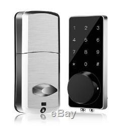 BT-Smart Door Lock Keyless Home Password APP Electronic Code Touchscreen Entry