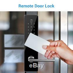 BT-Smart Door Lock Keyless Home Waterproof Code Electronic Touchscreen Keypad