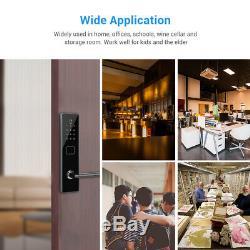 BT-Smart Door Lock Keyless Password Security APP Code Electronic Keypad Phone