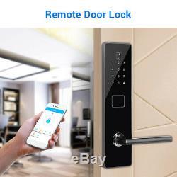 BT-Smart Door Lock Keyless Password Waterproof Card Electronic Touchscreen Entry