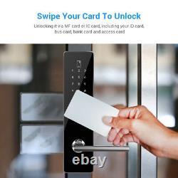 BT-Smart Door Lock Password Security Keyless Waterproof Electronic Touchscreen