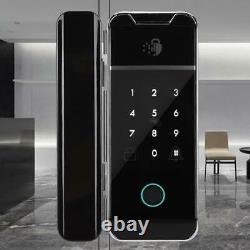 Bluetooth Fingerprint Smart Door Lock Password IC Card Keyless Digital Security
