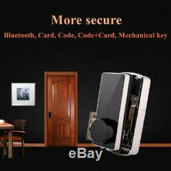 Bluetooth Smart Digital Door Lock Home Security Lock Keyless Touch Password Dead