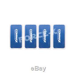 Commax Keyless Lock CDL-S210 Digital Smart Doorlock Passcode+4 RFID Cards Silver