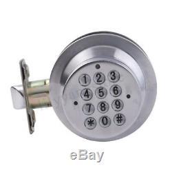 DIY Safety Home Security Keyless Smart Lock Keypad Battery Power Door Entry Lock