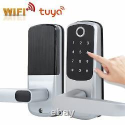 Digital Keyless Door Lock Security Entry Smart Touch Fingerprint Password Lock