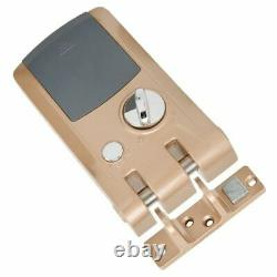 Door Lock Smart Keyless Security Door Lock with 4 Remote Controllers Home Security