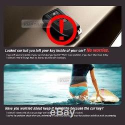 Door Touch Digital Smart Key Lock Unlock AUX Relay Kit Keyless For Peugeot