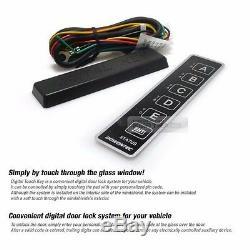 Door Touch Digital Smart Key Lock Unlock AUX Relay Kit Keyless For TOYOTA
