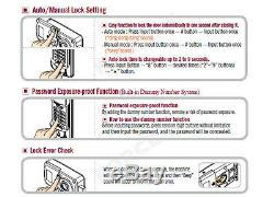 EVERNET POINT-K Smart Door Lock Keyless Digital Password + Mechanical Keys 2Way