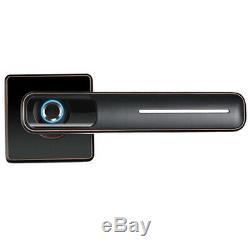 Electronic Code Door Lock Digital Keypad Card Smart Keyless Security Smart Lock