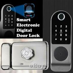 Electronic Digital Keypad Keyless Entry Code Smart Door Lock Security Entry