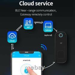 Electronic Fingerprint Door Lock Touch Password Keyless Smart Digital Keypa