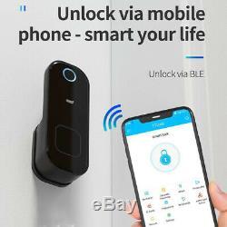Electronic Fingerprint Door Lock Touch Password Keyless Smart Digital Keypad