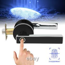 Electronic Handle Door Lock Smart Fingerprint Keyless USB For Home Hotel Office