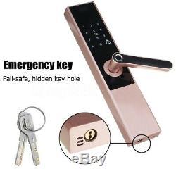 Electronic Smart Door Lock Keyless Digital Password Fingerprint APP Security