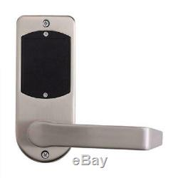 Electronic Smart Keyless Door Lock Code Keypad Security Entry+ 5 RFID Card Tag