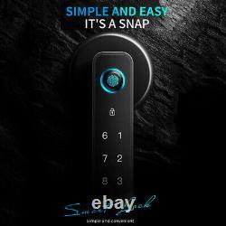 Electronic Smart Lock, Fingerprint APP Door Lock Keyless Entry Door Lock