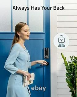 Eufy Security Smart Lock Touch & Wi-Fi Fingerprint Scanner Keyless Entry Door