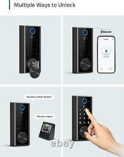 Eufy Security Smart Lock Touch and Wi-Fi, Fingerprint Scanner, Keyless Entry