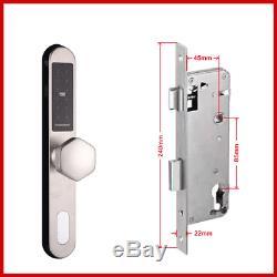 FREE DHL Electronic Sliding Door Lock Smart Digital Keypad Code Keyless Door