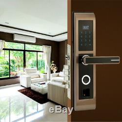FREE DHLBiometric Smart Fingerprint Lock Digital Touch Screen Keyless Door Lock
