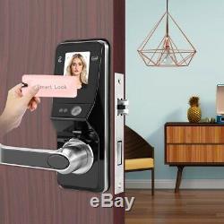 Face Facial Recognition Lock Smart Security Door Lock Keyless IC Card Reader