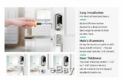 Fancy Waterproof Secure Smart Digital Keyless Door Lock, Keypads with Alexa